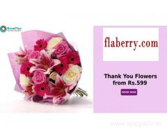 Thank You Flowers from Rs.599