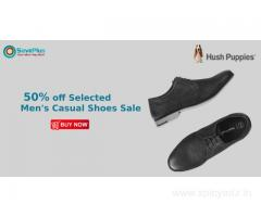 Hushpuppies Coupons, Deals & Offers: Flat 20% Off Orders Over Rs.1999