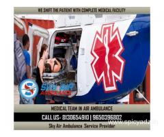 Book ICU Setups Air Ambulance from Raipur with Specialist MBBS Doctor