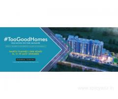 Flats near Manyata Tech Park | 2 BHK Apartment in Thanisandra | #TooGoodHomes