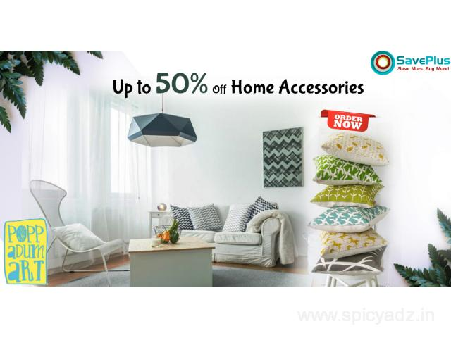 Up to 50% Off Home Accessories - 1