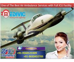 Choose Supreme Health Support Air Ambulance from Bhopal to Delhi by Medivic