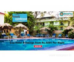 Goa Hotel Bookings from Rs.4084 Per Night