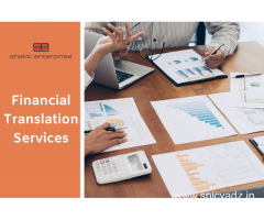Financial Translation Services Beyond the Ordinary – Shakti Enterprise