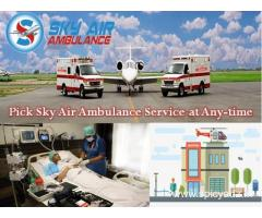 Sky Air Ambulance from Siliguri with Splendid Medical Care