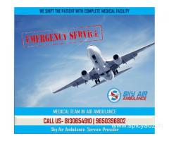 Use Sky Air Ambulance from Port Blair at an Authentic Price