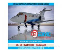Hire Proficient Medical Care Air Ambulance Services in Kolkata by Medivic