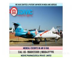 Avail Fast Transportation by Medivic Air Ambulance Services in Patna