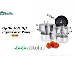 LuLu Webstore Coupons: Up To 70% Off Fryers and Pans