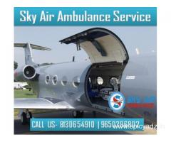 Select Air Ambulance in Bhubaneswar with Every Medical Solution