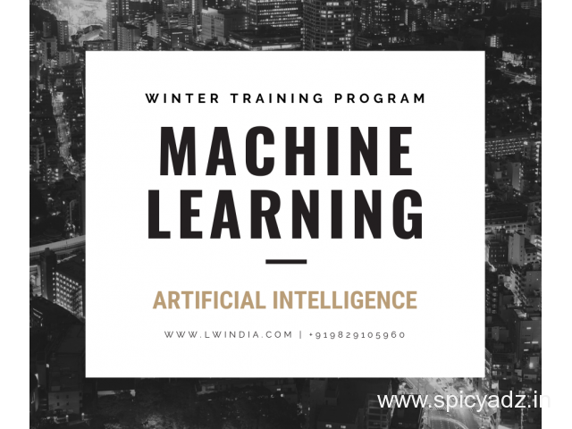 BTech Winter Industrial Training on MACHINE LEARNING