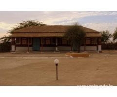 Get Shaam-e-Sarhad Rural Resort in,Bhuj with Class Accommodation.