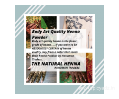 Body Art Quality Henna Powder