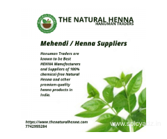 Mehendi / Henna Suppliers