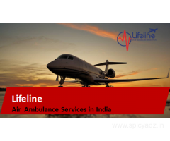 Lifeline Air Ambulance in Silchar Provides Medical Emergency on Call