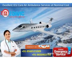 Now Hire with Much Probable Cost by Medivic Air Ambulance Service in Ranchi
