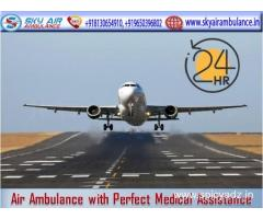 Rent Air Ambulance in Ranchi with Medical Machinery
