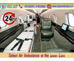 Select Air Ambulance in Raipur with Excellent Medical Crew