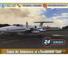 Choose Air Ambulance in Bhopal for Easy Patient Transportation
