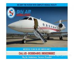 Use the Most Excellent Air Ambulance from Varanasi