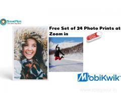 Mobikwik Coupons, Deals: Free Set of 24 Photo Prints at Zoomin