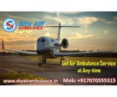 Choose Air Ambulance in Patna with Skilled MD Doctor