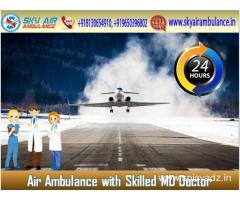 Low-Price Air Ambulance in Bhopal by Sky Air Ambulance