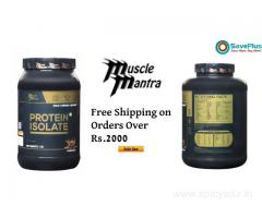 Muscle Mantra Coupons: Free Shipping on Orders Over Rs.2000