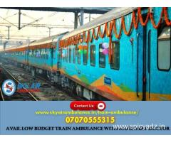 Use Train Ambulance from Delhi with the Best Medical Group