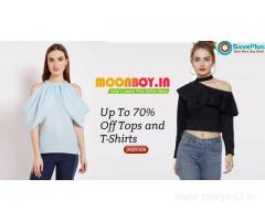 Moonboy Coupons: Up To 70% Off Tops and T-Shirts