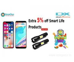 Extra 5% off Smart Life Products