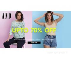 AND Coupons, Deals & Offers: Register And Get 10% Off New Collection