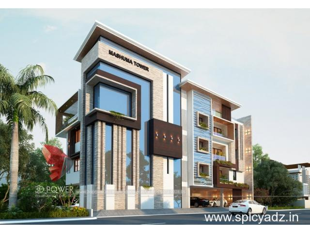 Exclusive 3D Bungalow Rendering & Interior Designing Services by 3D Power - 1