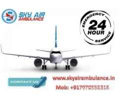 Sky Air Ambulance in Patna at a Reduced Charge