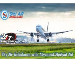 Use Air Ambulance from Delhi with all Medical Tools