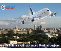 Book a Quick Air Ambulance from Guwahati by Sky