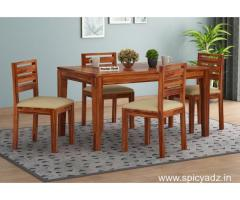 Captivating collection of 4 seater dining table set online