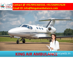 King Air Ambulance in Ranchi-with Medical Emergency Service