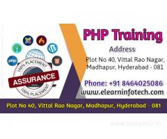 Best PHP Training Institute in Hyderabad with Placement