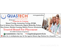 Software Testing, Java, Python, Digital Marketing, RPA Course Training Institute | QUASTECH