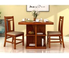 2 seater dining table set at Low Price