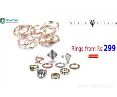 Rings from Rs.299