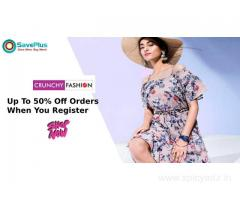 Crunchy Fashion Coupons, Deals & Offers: Flat 20% Off Sitewide