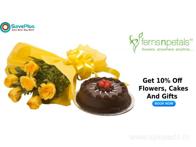 Get 10% Off Flowers, Cakes And Gifts - 1