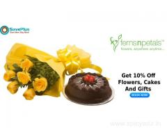 Get 10% Off Flowers, Cakes And Gifts