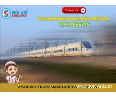 Take Sky Train Ambulance in Jabalpur with Most Excellent Medical Treatment
