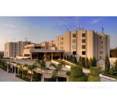 Get Atrium Hotel in,Faridabad with Class Accommodation.