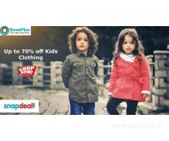 Up to 70% off Kids Clothing