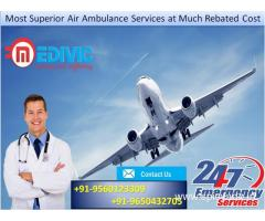 Most Economical Emergency Service by Medivic Air Ambulance in Kolkata