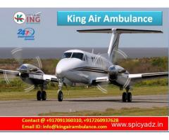 Emergency ICU Care Air Ambulance in Delhi-King Air Ambulance India